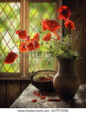 Solar poppies