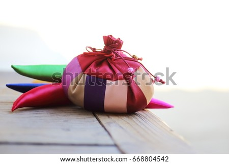 Korean Traditional Props,ornament and lucky bag #668804542
