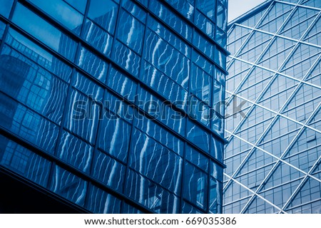 detail glass building background #669035386