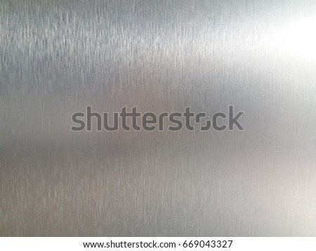 Stainless steel texture for background. #669043327