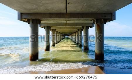 Under the boardwalk #669270475