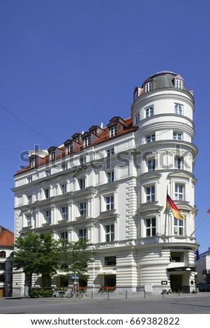Hotel Mandarin Oriental former Raffael in Munich, Bavaria, Germany, 26. August 2007 #669382822
