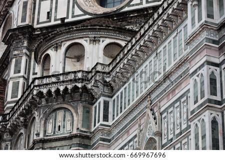 Basilica di Santa Croce (Basilica of the Holy Cross) in Florence city #669967696