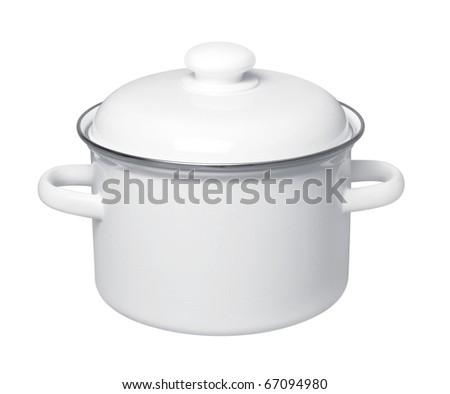 Enameled Saucepan #67094980
