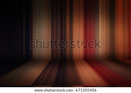 Blurred bending wall with lines background gradient #671205406