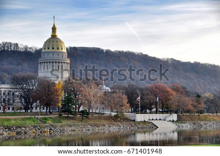West Virginia State Capitol Building #671401948