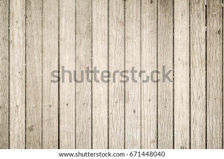 Close up of gray wooden fence panels #671448040