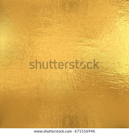 Gold foil texture, Vector background  #671556946