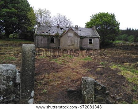 Abandoned School Building #672081343