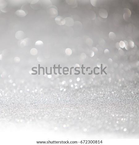 Silver light bokeh background. #672300814