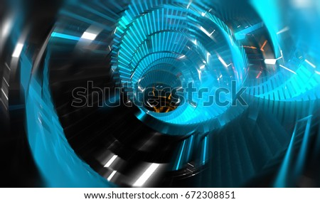Abstract bright blue motion background. illustration beautiful. #672308851