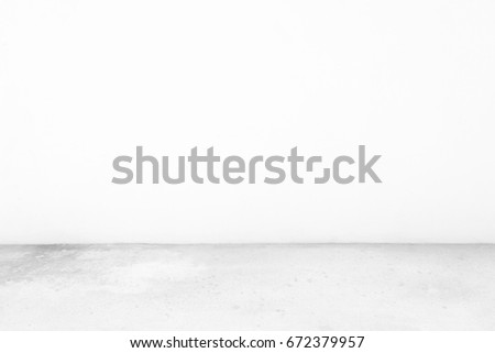 Abstract Concrete Room Background. #672379957