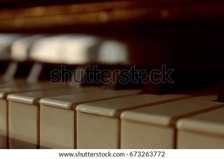 piano keys ,close-up/ abstract background #673263772