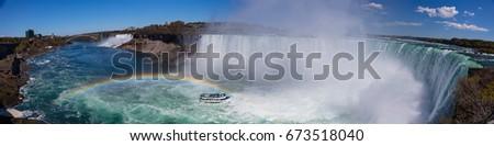 Niagara Falls/Niagara Falls taken from the Canadian side. #673518040