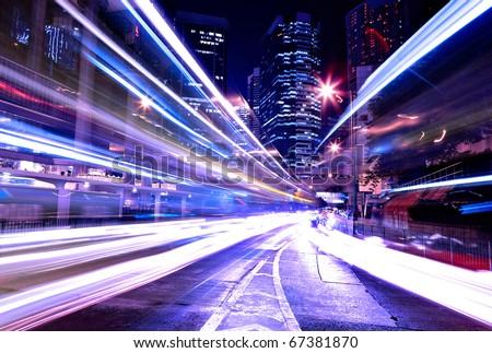 modern city at night #67381870