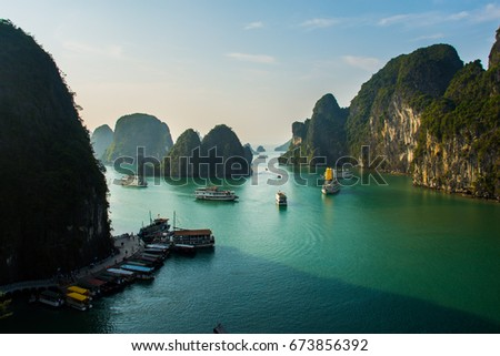 Ha Long Bay, Vietnam #673856392