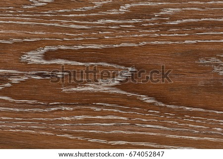 Wood background texture of smooth wooden boards scored and stained with age. Hi res photo.