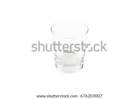 empty glass Cup #676203007