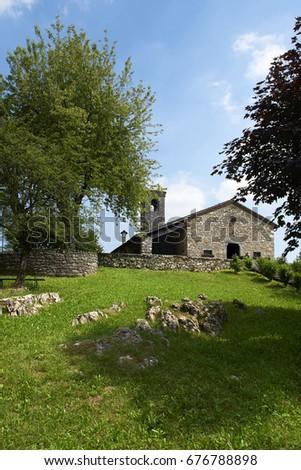 Barbaine (Bs),Italy, the church of Saint Andrew #676788898