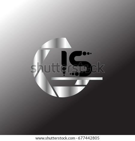 I S Logo #677442805