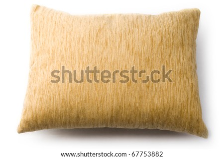 Pillow isolated on white #67753882