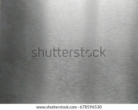 Steel plate metal texture background #678596530