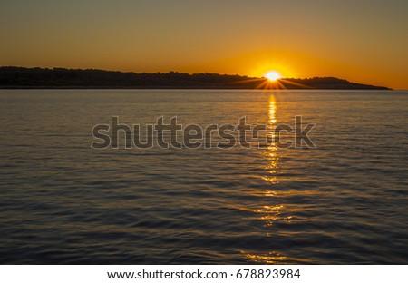 Sunrise in the Playa de Sa Coma – Mallorca Beaches Northeast, Baleares islands, Spain  #678823984