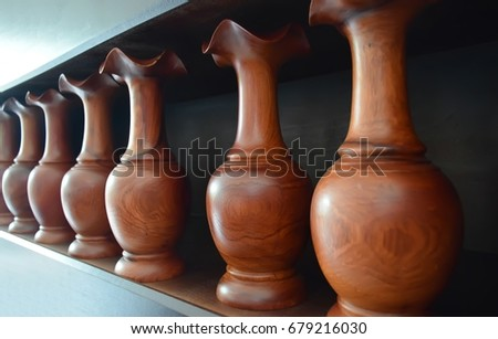 Vases.Vases made of wood, Hand-made products #679216030
