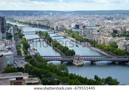 Seine River Paris #679551445
