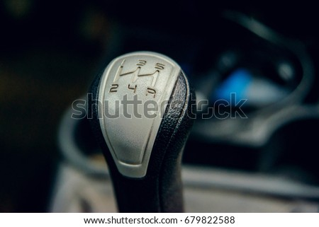 shift knob speed manual transmission car #679822588