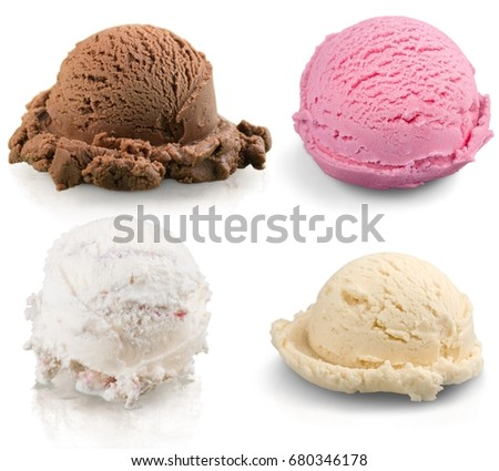 Color ice cream. #680346178