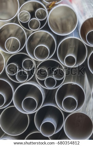 Plastic pipes or sleeves #680354812