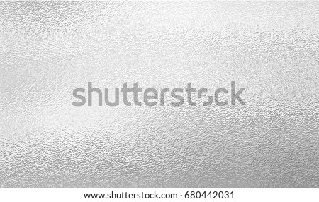 Shiny metal silver foil texture for background Royalty-Free Stock Photo #680442031