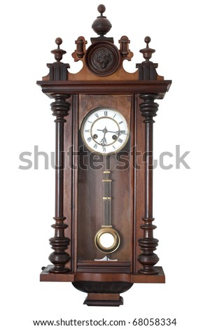 Old wall clock #68058334