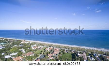Aerial Del ray Beach, Florida #680602678