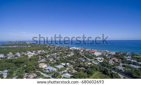 Aerial Del ray Beach, Florida #680602693