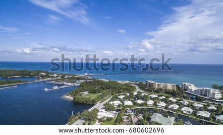 Aerial Del ray Beach, Florida #680602696