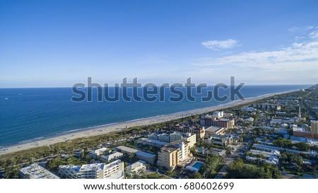 Aerial Del ray Beach, Florida #680602699