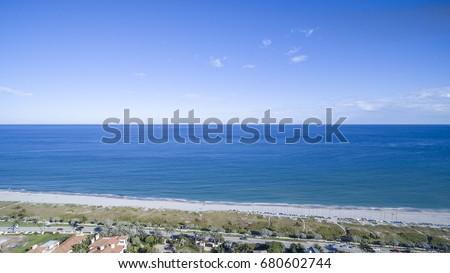 Aerial Del ray Beach, Florida #680602744