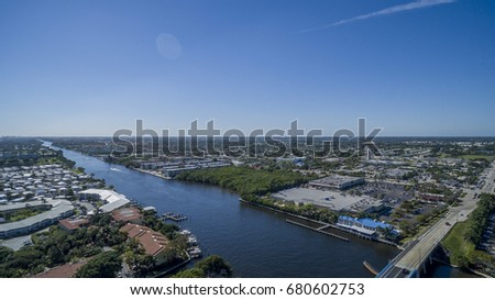 Aerial Del ray Beach, Florida #680602753
