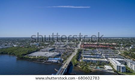 Aerial Del ray Beach, Florida #680602783