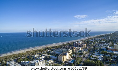 Aerial Del ray Beach, Florida #680602789
