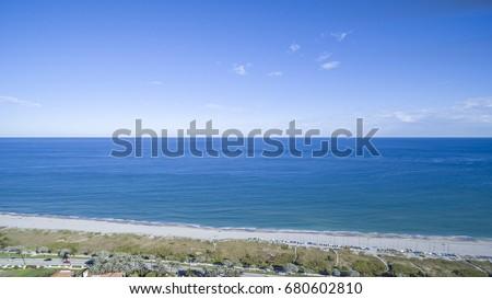 Aerial Del ray Beach, Florida #680602810