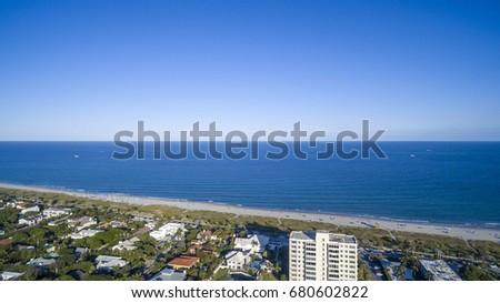 Aerial Del ray Beach, Florida #680602822