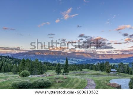 Big Sky, Montana, USA #680610382