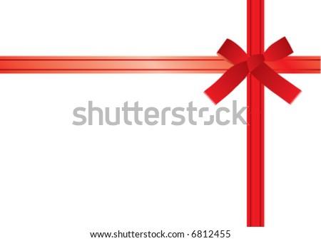 red ribbon #6812455