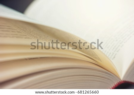 Open book pages #681265660