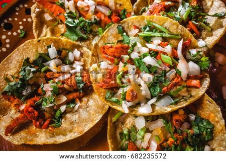 tacos in mexico, mexican food, tacos al pastor