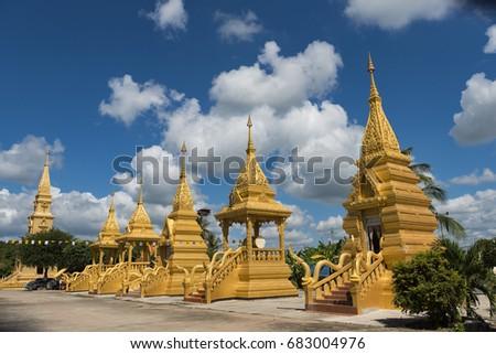 Wat Wiang Sieng is a beautiful temple in Loei province Thailand. #683004976