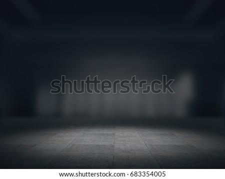 Product showcase spotlight background,.3D rendering #683354005